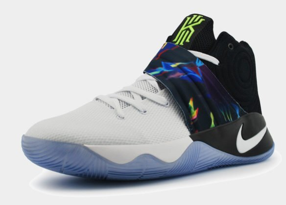 Nike Kyrie 2 бело-черные