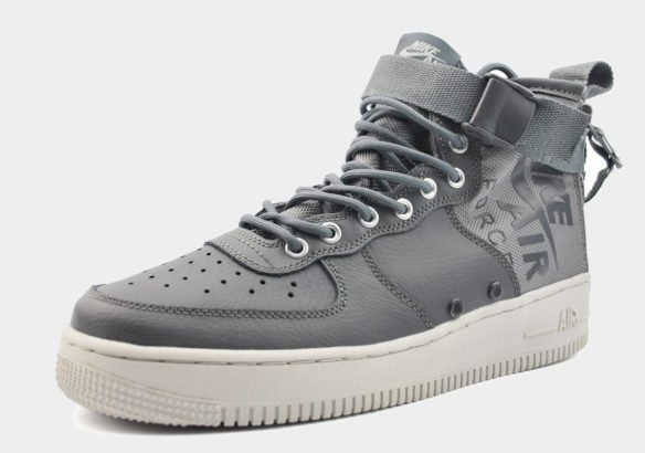 Nike SF Air Force 1 Mid серые